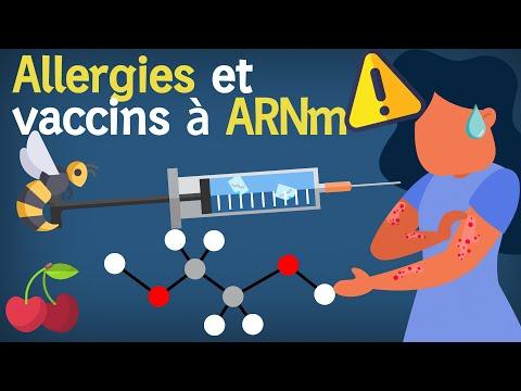 Allergies et vaccins à ARN contre le COVID 19