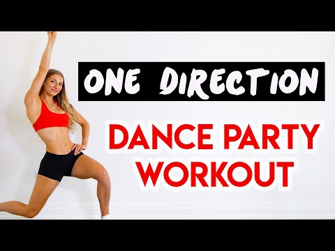 ONE DIRECTION 15 MIN DANCE PARTY WORKOUT – Full Body/No Equipment