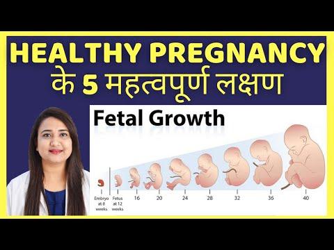 HEALTHY PREGNANCY के 5 महत्वपूर्ण लक्षण | HEALTHY PREGNANCY SYMPTOMS