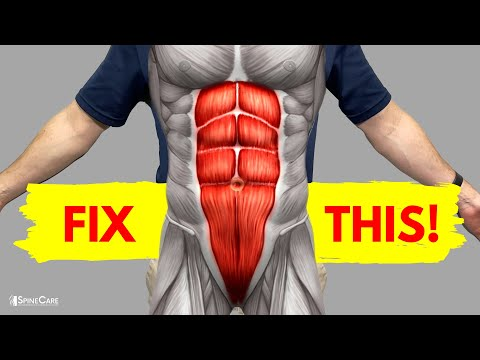 SAFE Core Exercises for Lower Back Pain Relief
