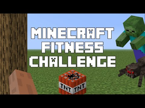Minecraft Fitness Challenge – Video Game Workout (Get Active Games)
