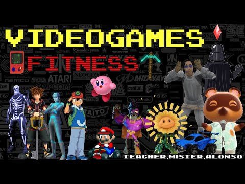 👾VIDEOGAMES FITNESS 💪 #2 ! This or That KIDS WORKOUT VIDEO / PE At Home / EXERCISE for KIDS