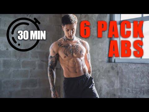 Complete 30 Min ABS Workout | Follow Along