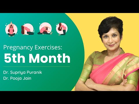 5th Month Pregnancy Exercise | Workout During Pregnancy Second Trimester | Dr Supriya Puranik