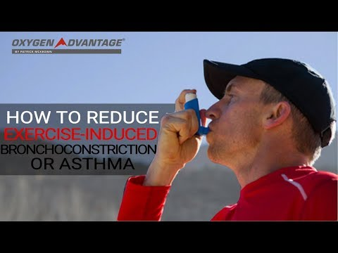 How to reduce exercise-induced bronchoconstriction or asthma