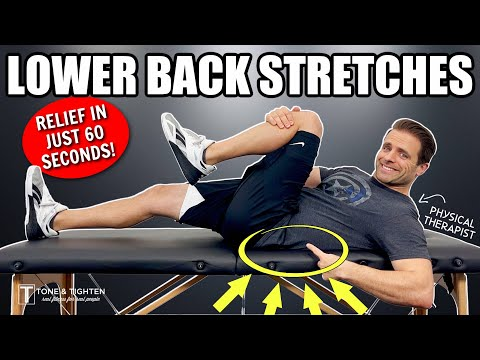 4 Exercises to Relieve Lower Back Pain In 60 Seconds