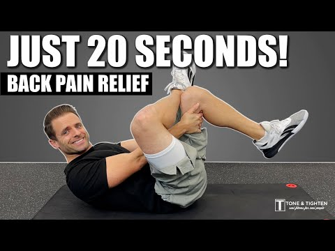 6 Exercises To Relieve Back Pain In 9 Minutes – FOLLOW ALONG