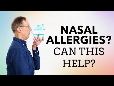 Can Saline Irrigation Help Nasal Allergies? Pharmacist Opinion On Sinus/Nasal Flush