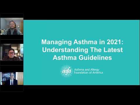 Webinar: Managing Asthma in 2021