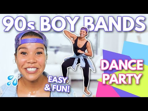 Indoor Full Body Fat Burn 90's Boy Bands Dance Party Workout | growwithjo