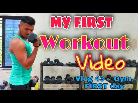 RUNNING WORKOUT | MY FIRST GYM WORKOUT VIDEO | VLOG – 42
