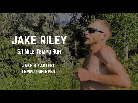 Jake Riley – 5.1 Mile Tempo Run (Jake's Final Hard Workout)