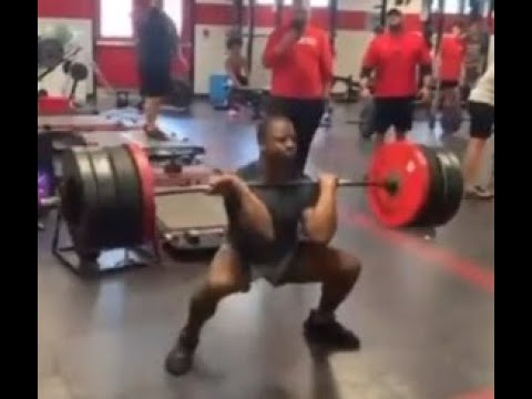 Nick Chubb Hang Cleans 420 lbs in Latest Workout Video – Sports 4 CLE, 7/22/21