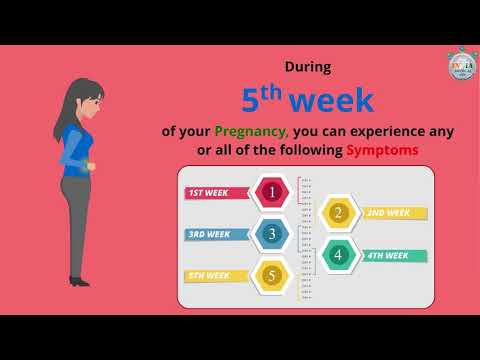 Body Changes and Pregnancy Symptoms at 5th Week of Pregnancy – Part 2