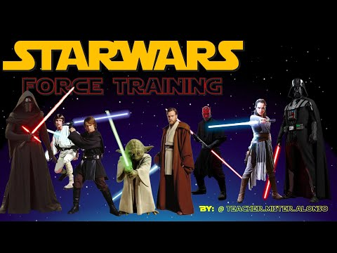 STAR WARS✨ Force TRAINING / EXERCISE for KIDS WORKOUT video /MAY the 4th Be With you Game