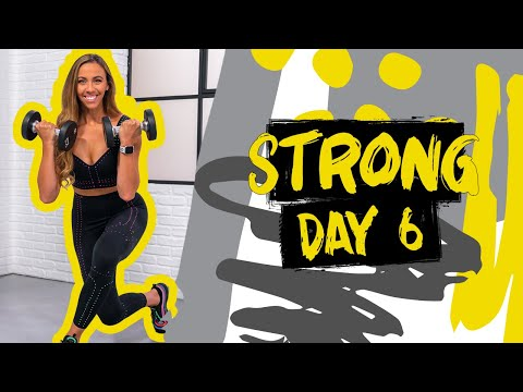 40 Minute Full Body Strength Workout | STRONG – Day 6