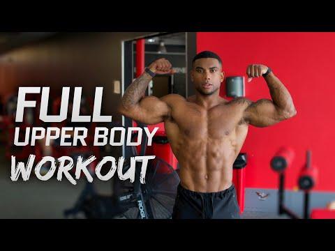 Full Week Of Training: Upper Body Workout (Calisthenics)